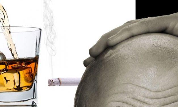 Il fumo contribuisce alla perdita dei capelli?