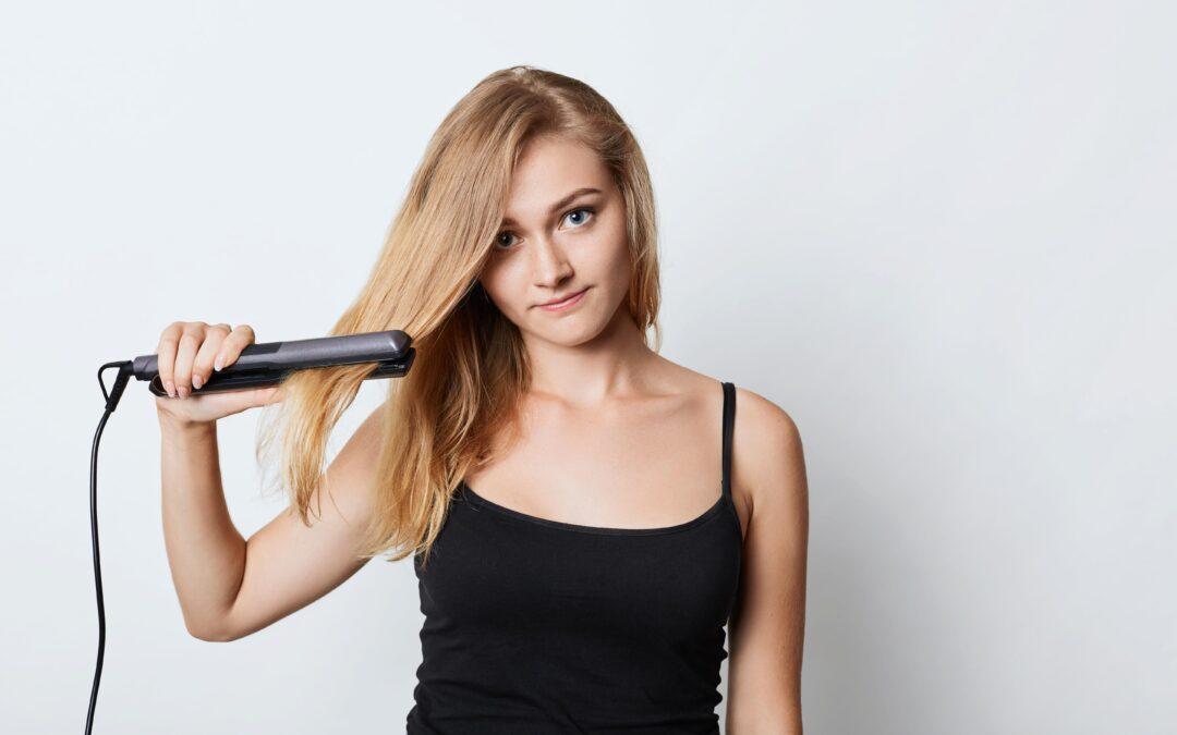 La piastra può portare alla caduta dei capelli?